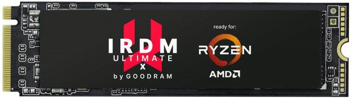 Goodram SSD Iridium Ultimate X 500GB M.2 2280 PCIe 4.0 x4 NVMe 3D TLC (IRX-SSDPR-P44X-500-80) - изображение 1