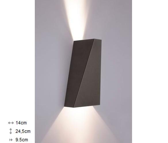 Світильник настінний Nowodvorski NARWIK графіт 9703 - зображення 1