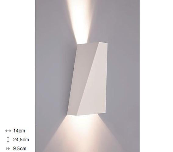 Світильник настінний Nowodvorski NARWIK білий 9702 - зображення 1