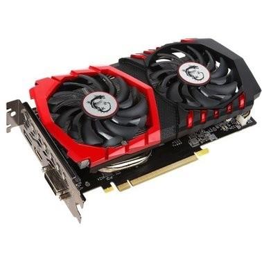 Відеокарта MSI GeForce GTX 1050 TI GAMING X 4G - зображення 1