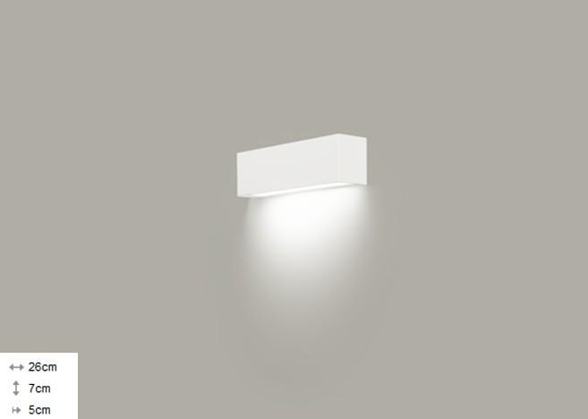 Світильник настінний Nowodvorski STRAIGHT XS 6345 білий - зображення 1