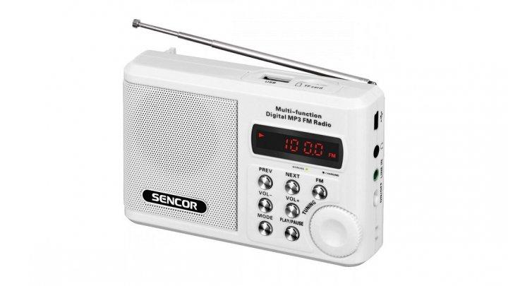 Кишенькове радіо Sencor SRD 215 W (JS776) - зображення 1