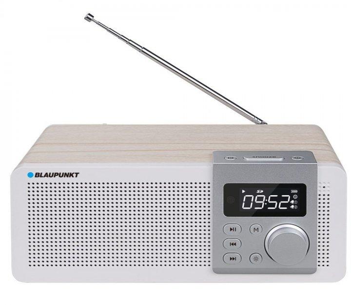 Портативний FM-радіо з акумулятором Blaupunkt PP14BT (5901750502255) - зображення 1