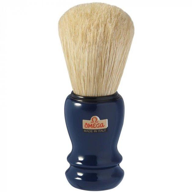 Помазок для гоління Omega 10108 Кабан (Синій) - изображение 1