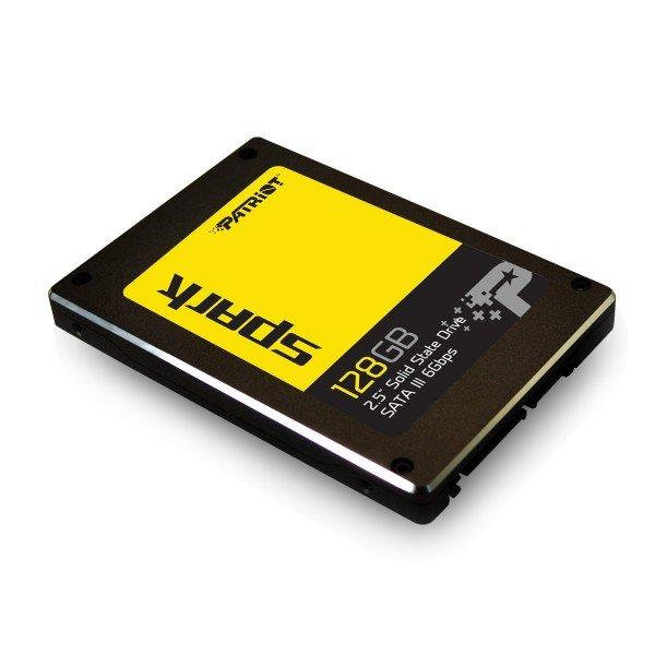"""Накопичувач SSD 128Gb Patriot Spark, SATA3, 2.5"""", TLC, 555/500 MB/s (PSK128GS25SSDR) - зображення 1"""