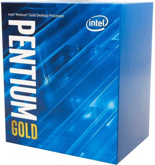 Процессор Intel Pentium Gold G6500 4.1GHz/8GT/s/4MB (BX80701G6500) s1200 BOX (JN63BX80701G6500) - зображення 1