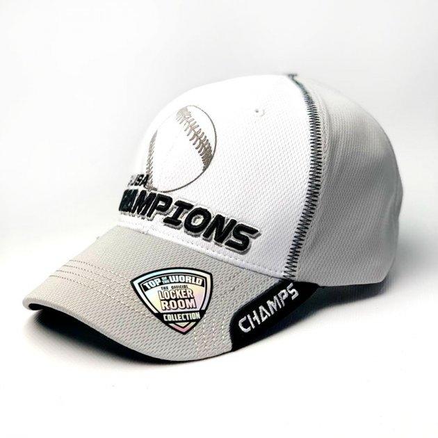Мужская бейсболка кепка TOW Top of the world Champions серый - изображение 1