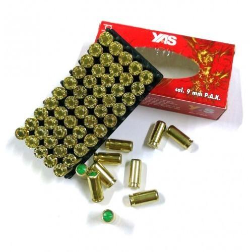 Холостые патроны YAS Gold (пистолетный, 9 мм) - изображение 1