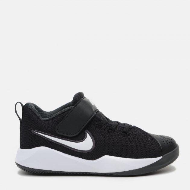 Кроссовки Nike Team Hustle Quick 2 (Ps) AT5299-002 33 (2.5Y) 21.5 см Черные (193146220347) - изображение 1