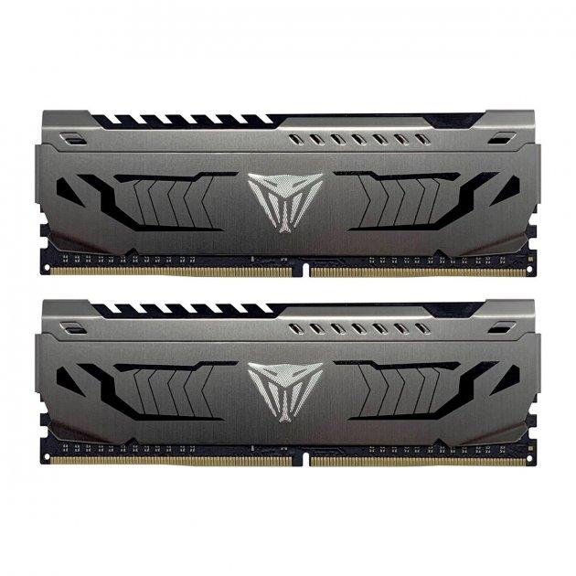 Модуль пам'яті Patriot 16GB (2x8GB) 3600 DDR4 Viper Steel (PVS416G360C8K) - зображення 1