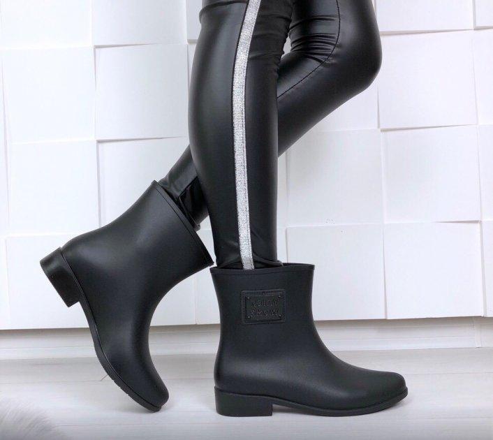 Сапоги резиновые Class Shoes Y2X108P 41 (25.5 см) Черные 00422 - изображение 1