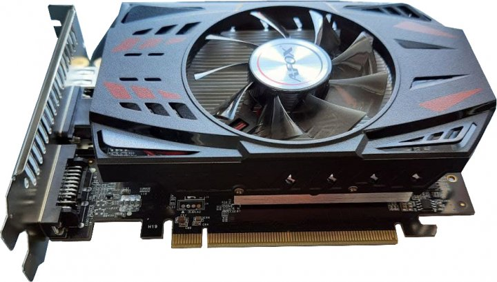 AFOX PCI-Ex GeForce GT 730 4GB GDDR5 (128bit) (700/3200) (VGA, DVI, HDMI) (AF730-4096D5H5) - изображение 1