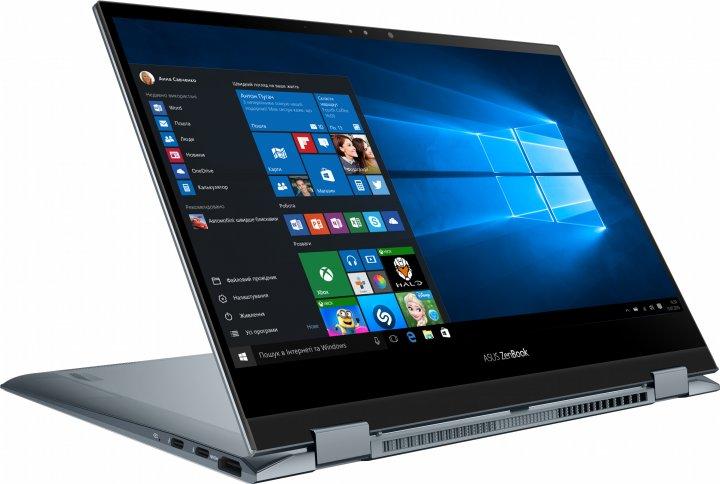 Ноутбук Asus ZenBook Flip UX363EA-EM073T (90NB0RZ1-M01370) Pine Grey - изображение 1