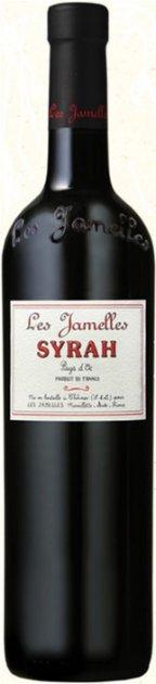 Вино Les Jamelles Syrah красное сухое 0.75 л 13.5 (3525490010034) - изображение 1
