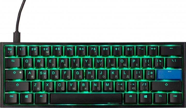 Клавіатура дротова Ducky One 2 Mini Cherry MX Brown USB Black-White (DKON2061ST-BURALAZT1) - зображення 1