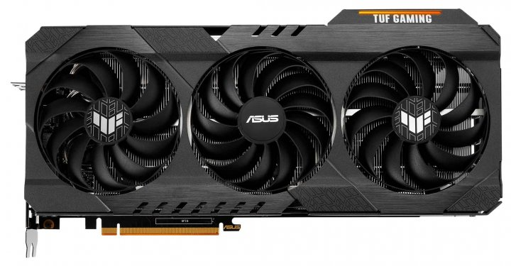 Asus PCI-Ex Radeon RX 6800 XT TUF Gaming OC 16GB GDDR6 (256bit) (16000) (HDMI, 3 x DisplayPort) (TUF-RX6800XT-O16G-GAMING) - зображення 1