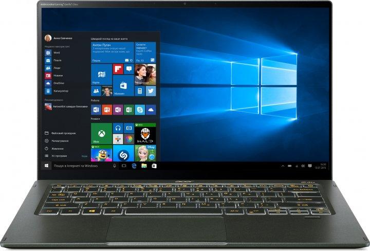 Ноутбук Acer Swift 5 SF514-55TA-79XL (NX.A6SEU.00C) Mist Green - зображення 1