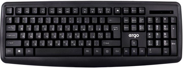 Клавиатура проводная Ergo K-260 USB Black - изображение 1
