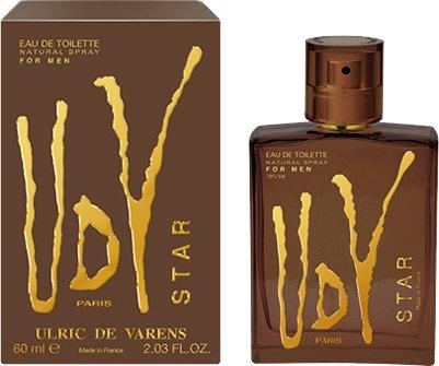 Туалетная вода для мужчин Ulric de Varens UDV Star 60 мл (3326240046538) - изображение 1