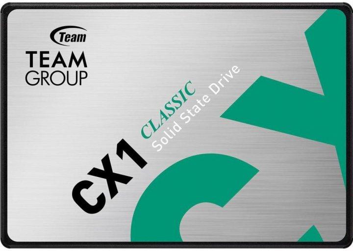 """Team CX1 960GB 2.5"""" SATAIII 3D TLC (T253X5960G0C101) - зображення 1"""