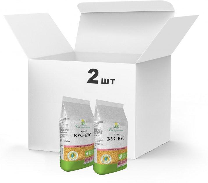 Упаковка Крупа кус-кус Терра 2 x 0.5 кг (4820015739155) - изображение 1