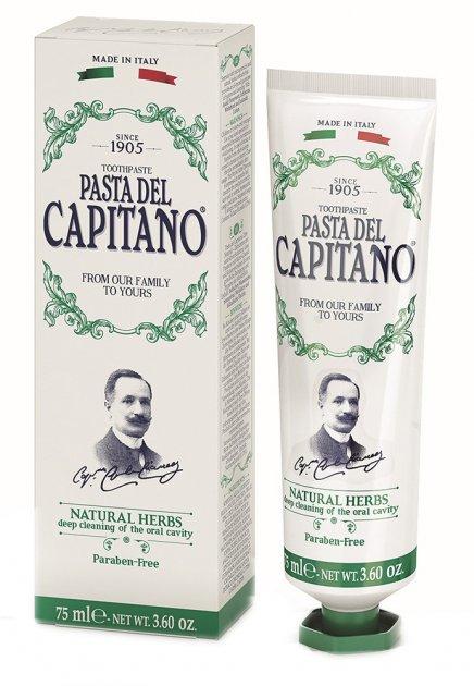 Зубная паста Pasta del Capitano 1905 Натуральные травы 75 мл (8002140137402) - изображение 1