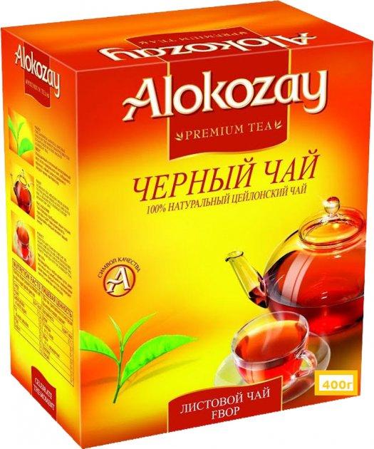 Чай черный Alokozay BOP среднелистовой 400 г (4820229040191) - изображение 1