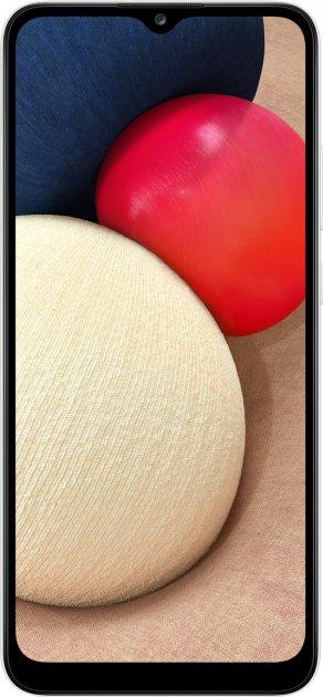 Мобильный телефон Samsung Galaxy A02s 3/32GB White (SM-A025FZWESEK) - изображение 1