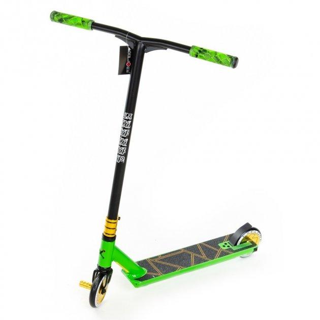 Самокат трюковий Explore Leidart Pro New зелений + пега - зображення 1