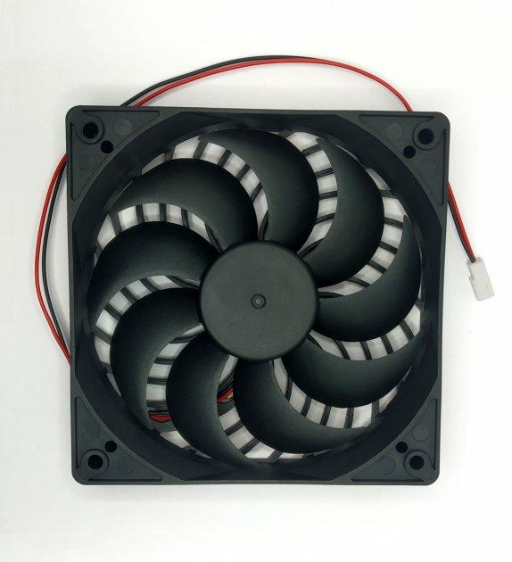 Вентилятор-кулер MDN 120мм 3000 оборотів / хв 9 лопатей із захистом (FAN-1225H12S) - зображення 1