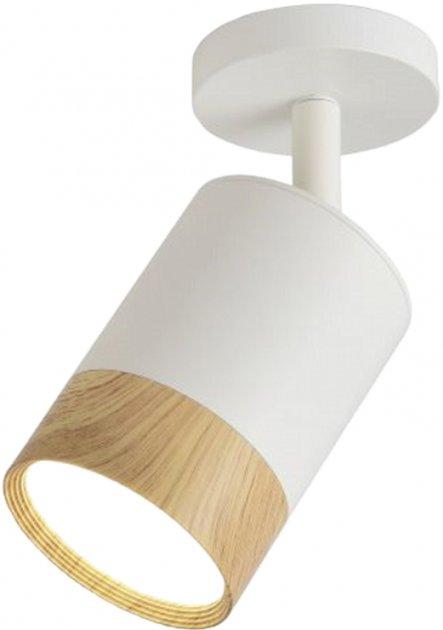 Спотовый светильник Ultralight TRL260 7W белый с деревом (UL-51506) - изображение 1
