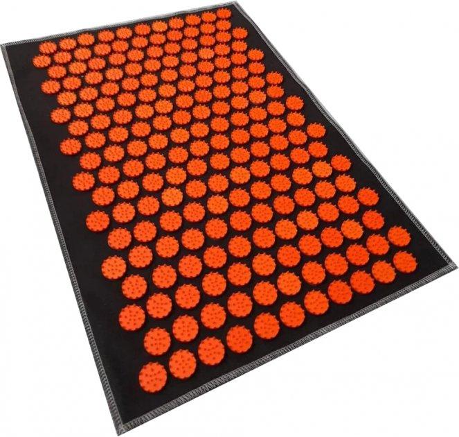 Коврик массажный Igora с аппликатором Кузнецова Air Mini 32 х 21 см Оранжевые фишки (FS-105) - изображение 1