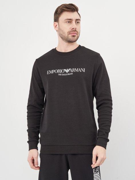 Свитшот Emporio Armani 10460.1 XXL (52) Черный - изображение 1