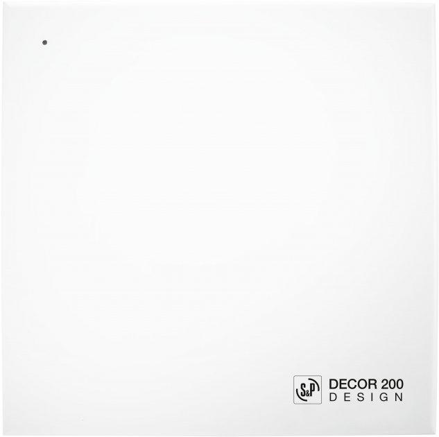 Вытяжной вентилятор SOLER&PALAU Decor-200 CRZ Design - изображение 1