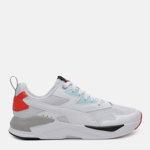 Кроссовки Puma X-Ray Lite 37412212 40 (6.5) 25.5 см Puma White-Puma White-Blue Glow-High Risk Red (4063697725607) - изображение 1