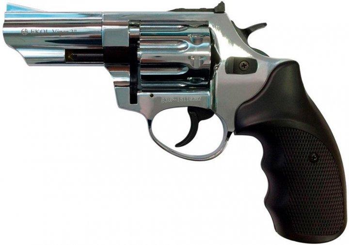 "Револьвер под патрон Флобера Ekol Viper 3"" хром (chrome) - изображение 1"