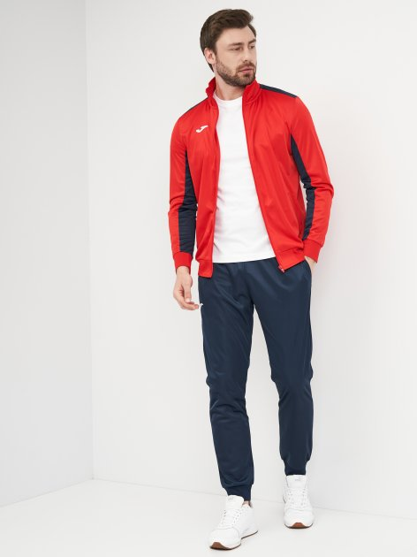 Спортивный костюм Joma Academy 101096.603 S Красный с темно-синим (9997717545096) - изображение 1