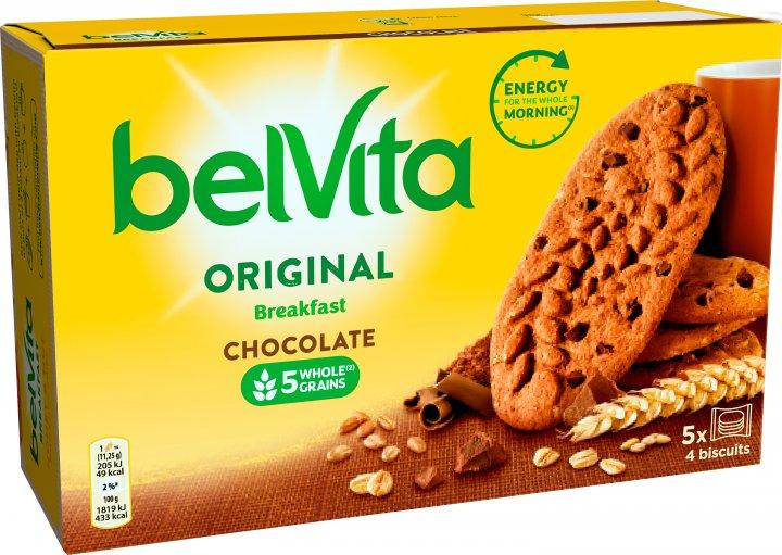 Печенье Belvita с шоколадом 225 г (7622210899316) - изображение 1