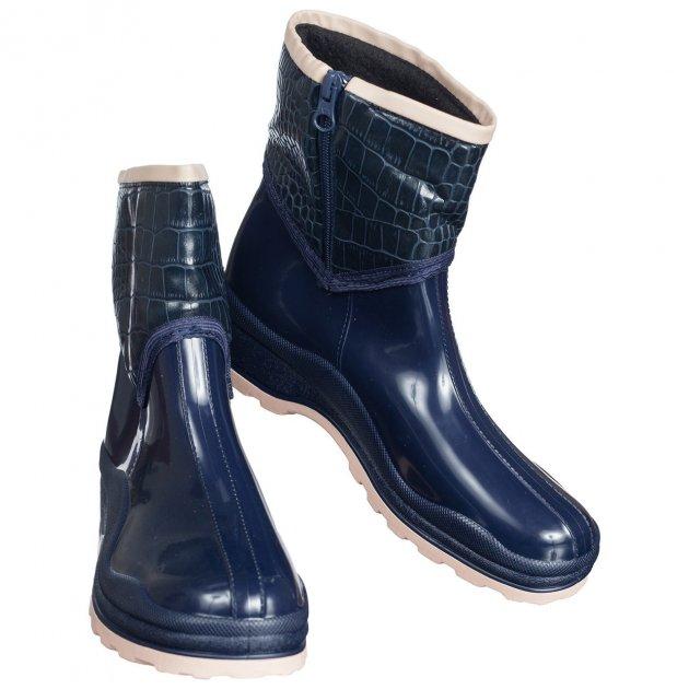 Жіночі гумові черевики W-Shoes 109-b 37р (23.5 см) сині b-434 - зображення 1