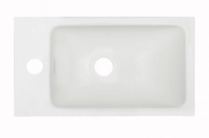 Раковина (умывальник) Fancy Marble Ida 400C Белый - изображение 1