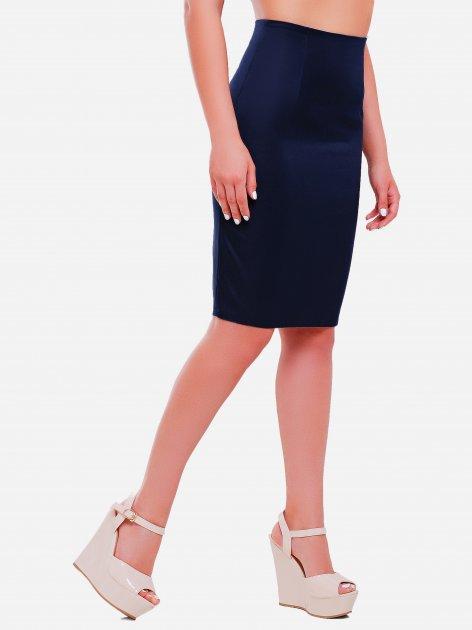 Юбка Fashion Up YUB-1052B 2XL (50) Темно-синяя (2100000193363) - изображение 1