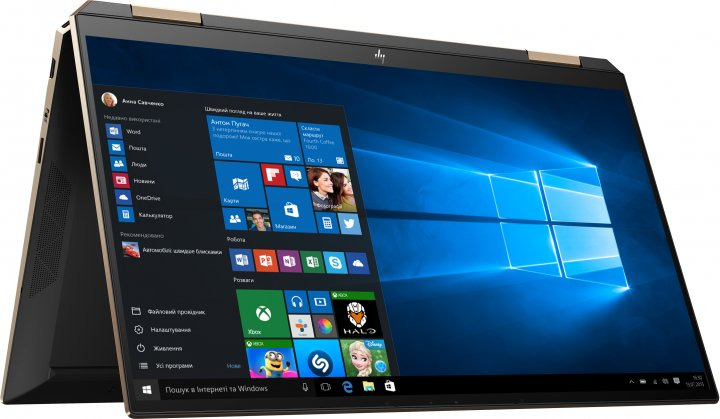 Ноутбук HP Spectre x360 Convertible 13-aw2007ua (423M7EA) Nightfall Black - зображення 1