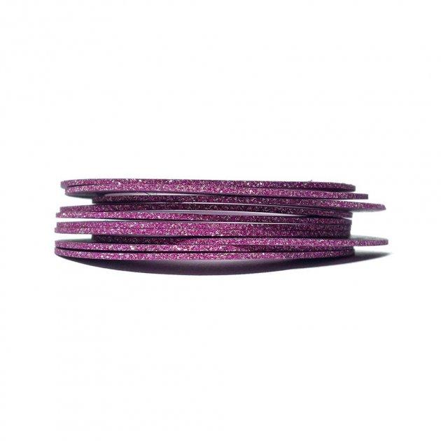 Липка стрічка для дизайну Рожевий ПІСОК ширина 1 мм - зображення 1