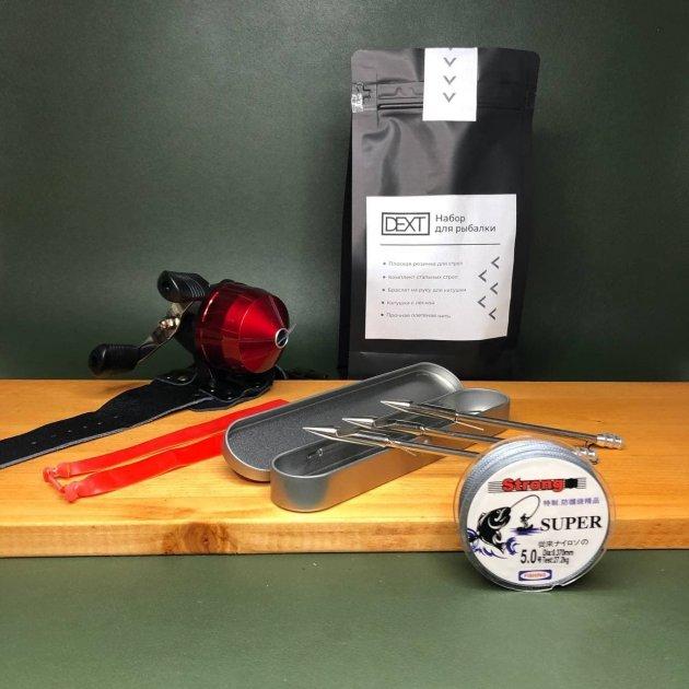 Рыболовный набор для рогатки с дротиками стрелами и катушкой DEXT для Боуфишинга Bowfishing - изображение 1