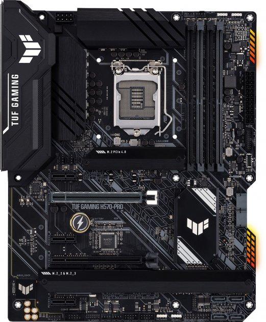 Материнська плата Asus TUF Gaming H570-Pro (s1200, Intel H570, PCI-Ex16) - зображення 1