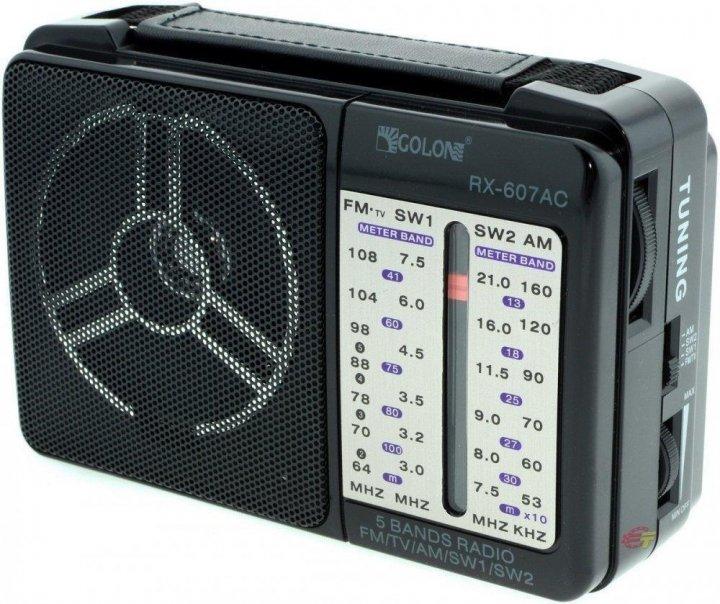 Радіоприймач GOLON RX-607 - зображення 1