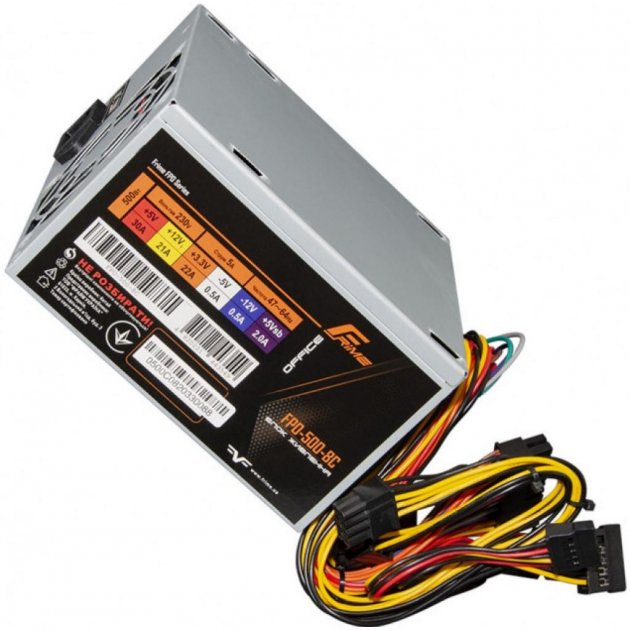 Блок питания Frime 500W (FPO-500-8C OEM) - изображение 1