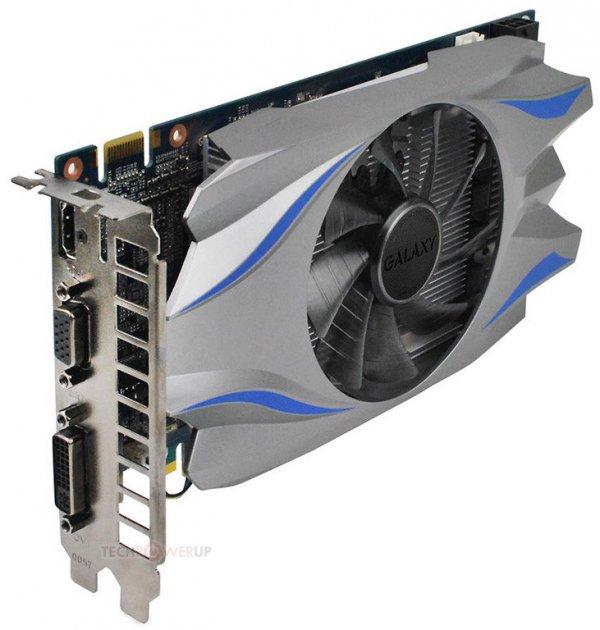 Відеокарта Galax GeForce GT740 1024 Mb GDDR5 128bit PCIE ОЕМ - изображение 1