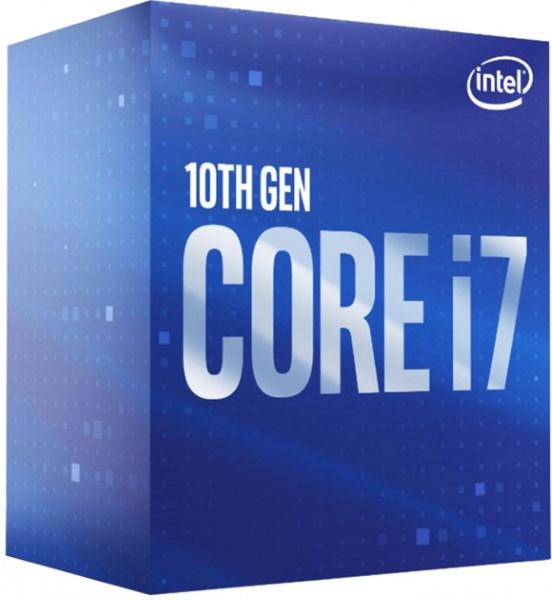 Процесор CPU Core i7-10700 8-CORE 2,90-4.80Ghz/16Mb/s1200/14nm/65W Comet Lake (BX8070110700) s1200 BOX - зображення 1