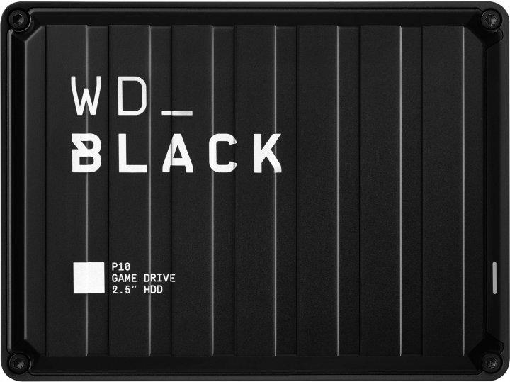 "Жесткий диск Western Digital WD BLACK P10 Game Drive 2TB WDBA2W0020BBK-WESN 2.5"" USB 3.2 External Black - изображение 1"